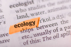 Écologie Photographie stock