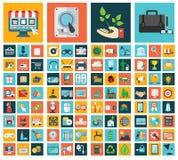 Écologie, affaires, achats et technologie Images libres de droits