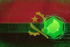 Écologie de l'Angola Concept de la défense d'écologie Images stock