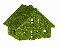 Écologie de nature de maison verte Images libres de droits
