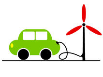 écologie de véhicule illustration stock
