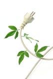 Écologie et énergie Image libre de droits