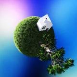 Écologie et nature vertes de planète photos libres de droits