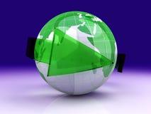Écologie globale illustration libre de droits
