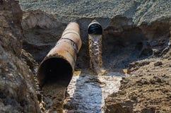 écologie Pollution de nature Photo stock