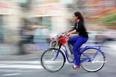 Écologiques alternatifs nettoient le transport Photo libre de droits