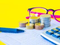 Économie abstraite d'argent images stock