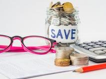 Économie abstraite d'argent image libre de droits