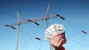 économie d'énergie de concept Photo libre de droits