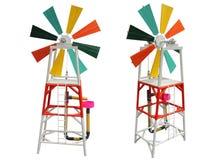 Économie d'énergie de turbine de vent Images libres de droits