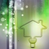 Économie d'énergie fluorescente Photos libres de droits