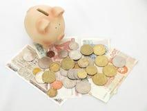 Économie d'argent photographie stock