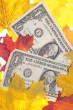 Économie d'automne images libres de droits