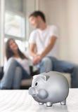 Économie de famille Image libre de droits