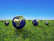 Économie de la terre Image libre de droits