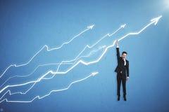 Économie et concept de bénéfice Image stock