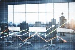 Économie et concept de finances image stock