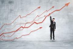 Économie et concept de finances photographie stock