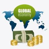 Économie globale, argent et affaires Photos libres de droits