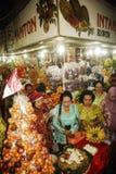 ÉCONOMIE GLOBALE DE COUP DE PRIX DU PÉTROLE DE L'INDONÉSIE Photo stock