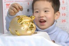 Économie heureuse Image stock