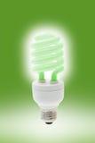 économie légère rougeoyante d'énergie d'ampoule images libres de droits