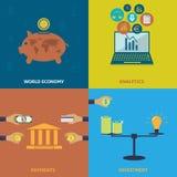 Économie mondiale Photo libre de droits
