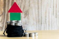Économie pour la maison Photo stock