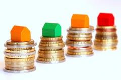 Économie pour une maison Image stock