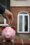 Économie pour une maison Photographie stock
