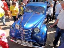 Économie soviétique retrocar des années 1950 Moskvitch 400(401) Image libre de droits