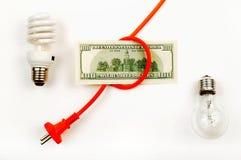 Économies d'énergie Photo stock