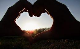 Économies d'amour ce monde Images stock