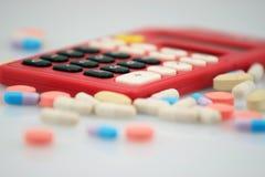 Économique dans la médecine Photographie stock libre de droits