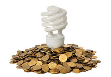Économiseur d'énergie Image libre de droits