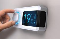 Économisez l'énergie, réduisant l'utilisation de l'électricité illustration stock