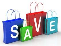 Économisez sur des affaires d'expositions de paniers illustration de vecteur