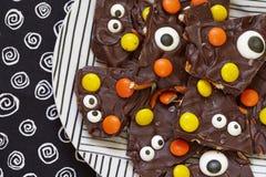 Écorce salée de monstre de Halloween photographie stock libre de droits