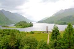 écossais des montagnes d'horizontal photos stock