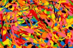Écoulement coloré de mélange Photos libres de droits