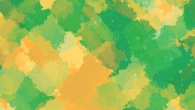 Écoulement de couleur d'eau de nature illustration stock