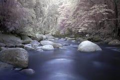 Écoulement de la rivière Photo stock