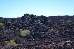 Écoulement de lave au cratère de la lune - Idaho Photo libre de droits