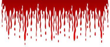 Écoulement de sang illustration libre de droits