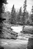 Écoulement du nord de rivière de rivage du Minnesota Images stock