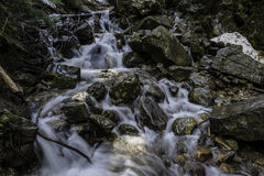 Écoulements d'eau Images libres de droits