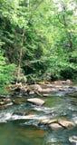 Écoulements de détente de rivière image libre de droits