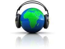 Écoute de la terre Photos libres de droits