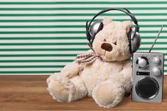 Écoute de musique Photo stock