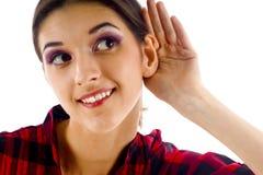 Écoute illicite Images libres de droits